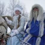 Костромская Снегурочка пересечет Полярный круг вместе с морозным волшебником Ямала, правителем Лукоморья – Ямал Ири.