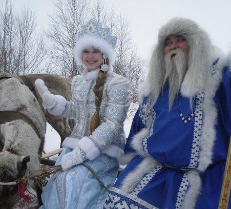 Костромская Снегурочка пересечет Полярный круг вместе с морозным волшебником Ямала, правителем Лукоморья – Ямал Ири