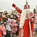 Уникальная прогулка сказочных персонажей по улицам города Костромы